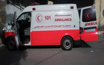 اسعاف فلسطيني