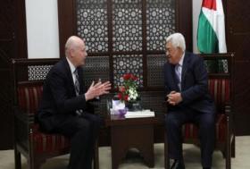 الرئيس عباس يلتقي غرينبلات في أول لقاء مباشر مع موفد لإدارة ترمب