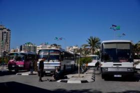 غزة.. الباصات العمومي
