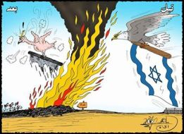 كاريكاتير ماهر الحاج