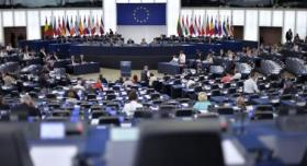 الاتحاد الأوروبي يبحث ملفي جرائم الاحتلال ونقل السفارة الأمريكية