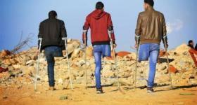 معارك حدود غزة تلد جيلاً من مبتوري الأطراف