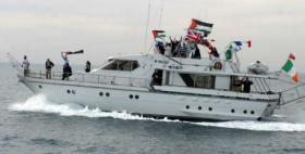 انطلاق سفن كسر الحصار من ميناء كوبنهاجن إلى غزة