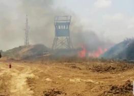 قصف مدفعي شرق البريج بعد تسلل شبان وحرق خيم قناصة للاحتلال