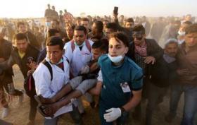 الصليب الأحمر: أكثر من 4 آلاف جريح بينهم ألف بحالة خطرة في غزة