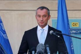 ملادينوف: لا مبرر لما جرى في غزة ويجب معاقبة المسؤول عن ذلك كله