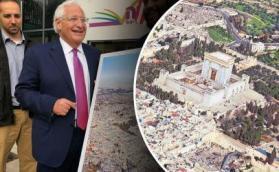 """فريدمان يتسلم مخططا يظهر """"الهيكل"""" على أنقاض المسجد الأقصى"""
