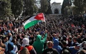 (محدث) 18 شهيداً في يوم العودة الأكبر نحو فلسطين