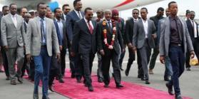 إريتريا وإثيوبيا تأملان في السلام بعد أول محادثات منذ 20 عامًا إريتريا وإثيوبيا تأملان في السلام بعد أول محادثات منذ 20 عامًا