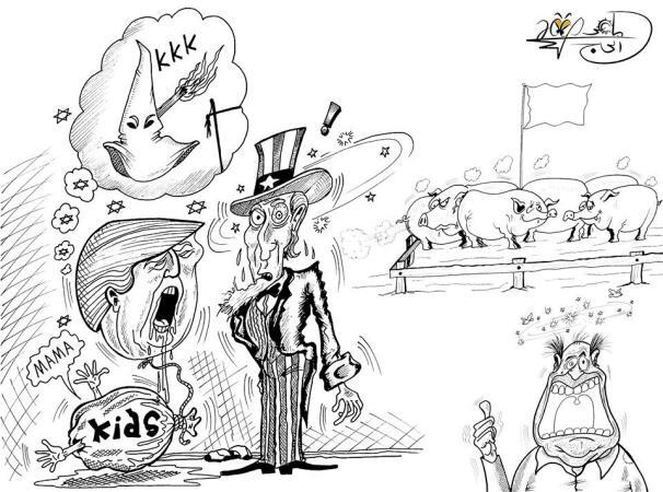 478596 - كاريكاتير : ماهر الحاج