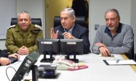 """إلى ماذا انتهت جلسة الكابينت التي """"عقدت تحت الأرض"""" حول غزة ؟"""