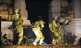 احداها خطيرة.. اصابتان برصاص الاحتلال جنوب نابلس