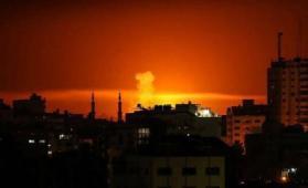 شهيد و14 إصابة وقصف من طائرة استطلاع شرق غزة