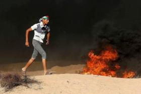 """الفلسطينيون يستعدون لجمعة """"عائدون رغم أنف ترامب"""""""