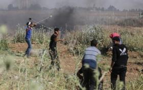 إصابات بالاختناق خلال مواجهات مع جيش الاحتلال جنوب جنين
