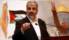 """مشعل يطالب بـ """"إعادة تعريف المشروع الوطني الفلسطيني"""""""