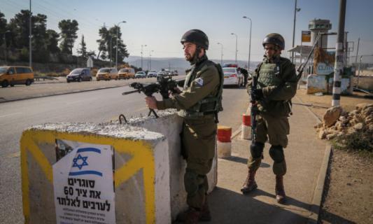 الاحتلال يعيد إغلاق الضفة الغربية وقطاع غزة 3 أيام