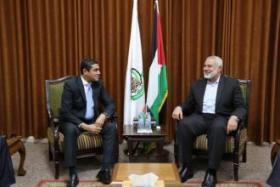 حماس ترفض طلبين لوفد المخابرات المصرية بشأن مسيرات العودة