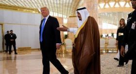 """ترامب: السعودية ساعدتنا كثيرا فيما يتعلق بـ""""إسرائيل"""" ومولت عدة أشياء"""