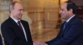 قناة روسية: 5 ملفات هامة خلال لقاء بوتين والسيسي