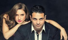 """طليق نيللي كريم يصفها بـ """"أم زبالة"""" والممثلة وفاء عامر ترد !"""