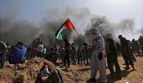 استشهاد سيدة وإصابة 7 مواطنين برصاص الاحتلال شرق غزة