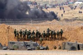 جيش الاحتلال: أنفقنا 40 مليون شيكل لمواجهة مسيرات العودة بغزة