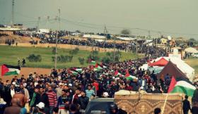 الاحتلال يهدد المشاركين في مسيرات العودة اليوم