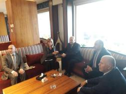 الشخصيات المستقلة تجتمع سفيرة النرويج لخطة الاعمار والسلام