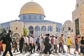 القدس: أكثر من 50 مستوطنا يقتحمون المسجد الأقصى اليوم