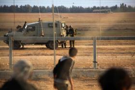 الآلية الجديدة التي يفرق بها جيش الإحتلال المتظاهرين