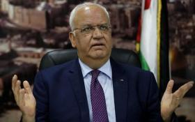 """عريقات: بعد ضم الضفة سيعترف ترامب بـ """"دولة حماس"""" في غزة"""