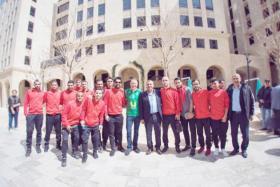 نادي الوحدات يزور مدينة روابي ويغادر إلى عمان