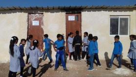 """نشطاء ينتزعون قرارا من محكمة الاحتلال بعدم هدم مدرسة """"تحدي 5"""""""