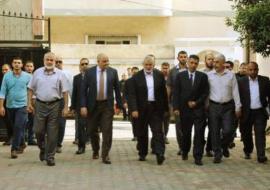 وفد أمني مصري يصل غزة اليوم