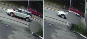 شاهد لحظة إطلاق إرهابي نيوزيلندا النار من خلف زجاج سيارته على المارة