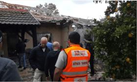 صاروخ غزة يتصدر عناوين المواقع العبرية