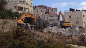 الاتحاد الأوروبي يعرب عن قلقه لهدم الممتلكات الفلسطينية بالقدس الشرقية
