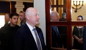 غرينبلات يدعو أبومازن وقادة السلطة الفلسطينية لزيارة قطاع غزة