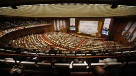 """""""البرلماني الدولي"""" يؤكد ضرورة إقامة دولة فلسطين على حدود 67"""