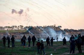 صحة غزة: الاحتلال يستخدم قنابل غاز مجهولة وأنواع مختلفة من الرصاص