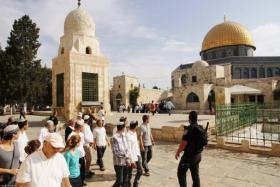 الاحتلال يحول القدس الى ثكنة عسكرية عشية الانتخابات الإسرائيلية
