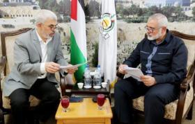 """حركة حماس تنقل قائمة طلبات لـ """"إسرائيل"""""""