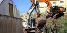 جرافات إسرائيلية تقتحم حي وادي ياصول ببلدة سلوان
