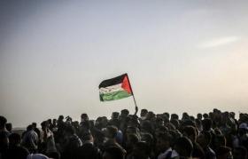استعدادات للمشاركة في جمعة يوم القدس شرق غزة اليوم