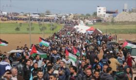 العليا لمسيرات العودة تعلن 15 مايو المقبل إضرابا شاملا