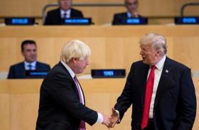 ترامب يدعم جونسون لرئاسة الحكومة البريطانية خلفا لماي