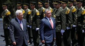 الرئيس عباس والعاهل الأردني يؤكدان على تمسكهما بمبادرة السلام العربية