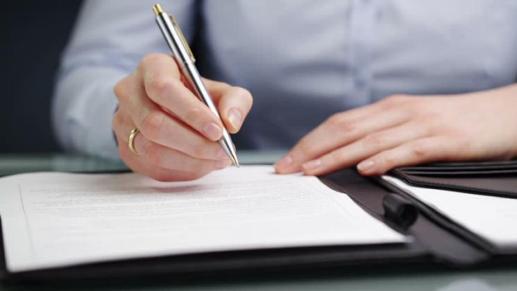 قلم الكاتب