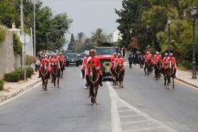 شاهد| آلاف التونسيين يودعون رئيسهم الراحل السبسي